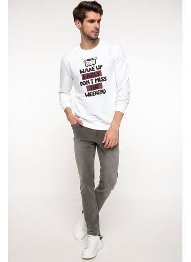 DeFacto Pijama Üstü Beyaz